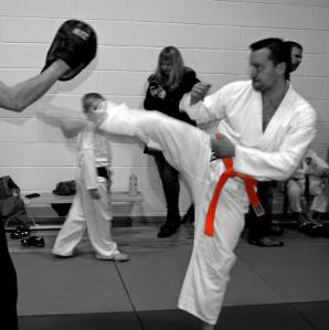 Action from recent class!