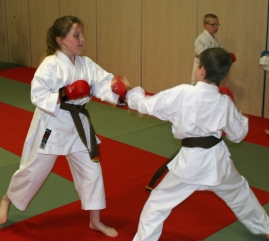 Hannah Cameron Fighting 2