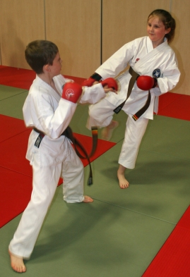 Hannah Cameron Fighting