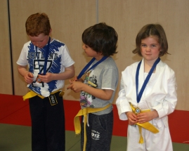 Well Done Yellow Belts